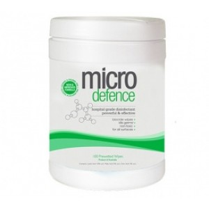 Caron Micro Defence Prewetted 100 Wipes
